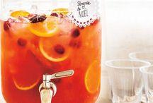 Boissons/Drinks / Idées recettes pour boissons