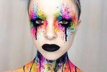 Make-up / SFX-Make-up - so verwandelst du dich in einen gruseligen Zombie oder in ein mystisches Fabel-Wesen