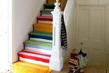 stairs & hallways & nooks / by Kelly McCaleb