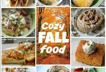 Fall Food / Yummy recipes to be made during the glorious months of September, October and November...and enjoyed with coffee and a roaring fire.