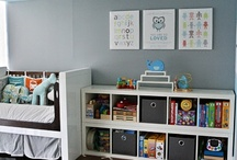 Nursery and lil ones ideas! / by Kelly Fromm (parks&tally)