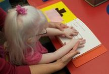 teaching the blind & visually impaired / by Amanda