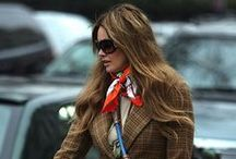 Many ways to wear a scarf / by The Rich Life (on a budget)