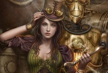 """Oh So Steamy / """"Steampunk is...a joyous fantasy of the past, allowing us to revel in a nostalgia for what never was. It is a literary playground for adventure, spectacle, drama, escapism and exploration. But most of all it is fun!"""" ~ George Mann  / by Mollyn Shew"""