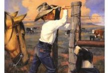 ❉ Cowboys & Cowgirls ❉ / by Arlene McKnight