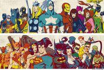 Comics Art / by Geoffrey Hurst