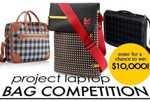 Laptop Bag Designs & Inspiration / Feeling inspired? Enter our HP Ultrabook Bag Design Contest  and you could win $10,000: goo.gl/tc7UN