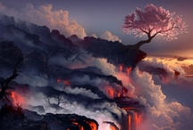 Landscape / Collection of majestic digital arts on landscapes and environment. / by Ryan Sanjoto