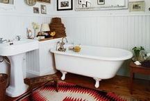 My Bathroom: Inspiration / Ideas for the bathrooms in my house - Spanish style 1924 bungalow with a little Moorish/Moroccan thrown in. / by Megan Garrett / My Life Eclectic