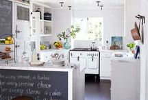 Farmhouse Kitchens and Decor / Farmhouse cottage kitchens and fabulous kitchen decor to fill them with. / by Laurie Rohner Studio