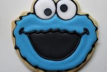 "Cookies, Fudge, Candy, Bars & Brownies... / Cookie Monster says,""Now what starts with the letter C? Cookie starts w C Let's think of other things That starts w C Oh, who cares about the other things? C is for cookie, that's good enough for me, yeah! Cookie, cookie, cookie starts w C, oh boy! Umm-umm-umm-umm-umm.""  / by Lisa Kramer-Murray"