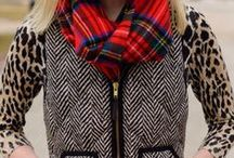 Fall & Winter Style / Layers of coziness, pops of color, boots and scarves...let's dress for fall and winter.