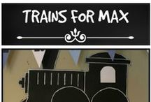 Max' Train Party Ideas