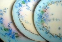 Aqua and Turquoise / by Kathy Borton