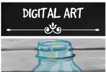Digital Art / Just me doodling with my Wacom Intous Sketch Pad