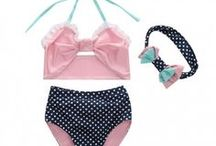VindieBaby: Swimwear / Here's our collection of beautiful vintage inspired swimwear for little girls.