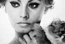 Sophia! Sophia! Sophia! / Style icon Sophia Loren fashion, quotes, nails, makeup, hair. Tips to get her look. Bella! / by Beth Andersen