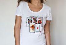 Camisetas / Tablero sobre diseño de camisetas.