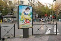 Publicidad / Tablero sobre diseño de publicidad.