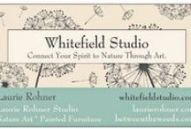 Whitefield Studio / Art is felt through a mind energy and spirit connection. It is my heartfelt wish my nature art makes that connection with you. Shop at http://www.laurierohner.com.html