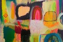 My Work: Abstract Collage Works / by Sarah Donnell