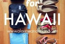 Hawaii Packing List / Checklist of What to Pack for Your Hawaii Vacation.