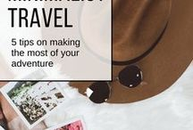 Minimalist Travel / Less is more, and that's what this minimalist travel guide is all about.
