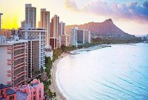 Waikiki Adventures / High-rise hotels line the shore in Waikiki, a vibrant neighborhood known for its popular surf beach. Designer fashion stores line Kalakaua Avenue and nearby streets, and the area buzzes after dark with waterside cocktail bars, fine dining and Kuhio Beach hula shows.