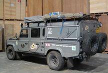 Land Rover camper / Inspiratie voor de bouw van een 130 camper