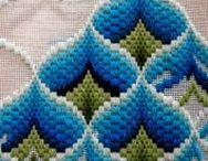 Барджелло -итальянская вышивка на сетке
