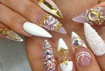 I Luv Ur Nails / 2017 Nail Trends, Coffin Nails, Nail Designs Boho Stiletto Nails Acrylic Tips coffin nails nail art ideas