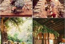 Country wedding decorations / Country style wedding decoration