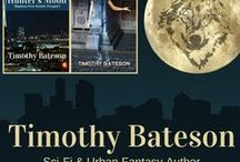 "Urban Fantasy & Science Fiction by Timothy Bateson / Here's a list of my short stories, novels, and anthology appearances. I mostly write urban fantasy and science fiction, with an ongoing series entitled ""Shadows Over Seattle"". Find out more @ http://timothybatesonauthor.weebly.com"