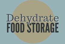 Food Storage || Dehydrate / How to dehydrate herbs, fruits, vegetables and make jerky for food storage