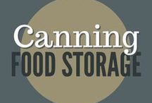 Food Storage || Canning / Canning is a time-tested way to preserve food for food storage. Water bath canning, pressure canning, jam, jelly, meals in a jar, vegetables, fruit and sauces