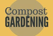Gardening || Composting / composting techniques, compost boxes, compost bins, DIY compost