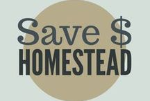 Saving Money on the Homestead / Ways to save money at home and on the property