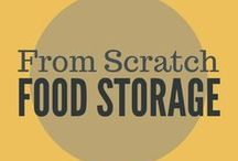Food Storage || Recipes from Scratch / Cooking from scratch with natural ingredients