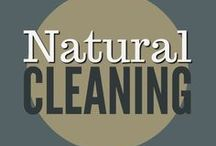 Natural Cleaning / natural cleaning, cleaning tips, homemade cleaning recipes, organizing ideas