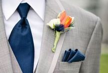 GROOM & GROOMSMEN / groom and groomsmen gifts and attire / by Emmaline Bride | Handmade Wedding Blog