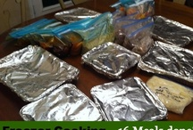 Freezer Cooking / Freezer cooking saves time and money!  Here we are pinning recipes for freezer cooking, once a month cooking (OAMC) ideas, freezer tips and saving money while doing it.
