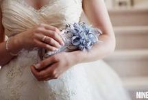SOMETHING BLUE / Something blue accessories, ideas + inspiration / by Emmaline Bride | Handmade Wedding Blog