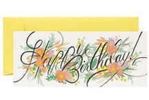 Stationery / Paper goods, stationery, greeting cards, and the like.
