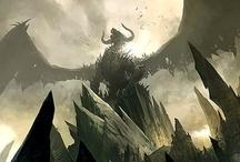Everything Fantasyland, Dragon, Fey, Vampire, Shifter, Angel / by Phyllis Marshall