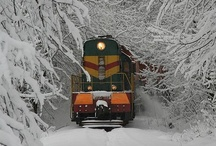 Trains and Automobiles / by Phyllis Marshall