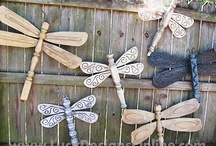 Bird Bits & Outdoor Ornaments  / As a child growing up my grandparents always fed the birds... now we do!