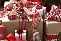 Bows, Packages & Wrap... / I love beautiful bows and the all the wrap ideas out there...