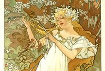 Nouveau and Mucha