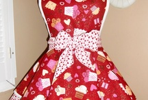 Apron love.... / I have a great love of aprons... don't miss my Ulster Weavers board.  Love their aprons...