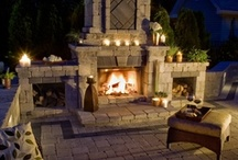Outdoor Fireplace Inspirations